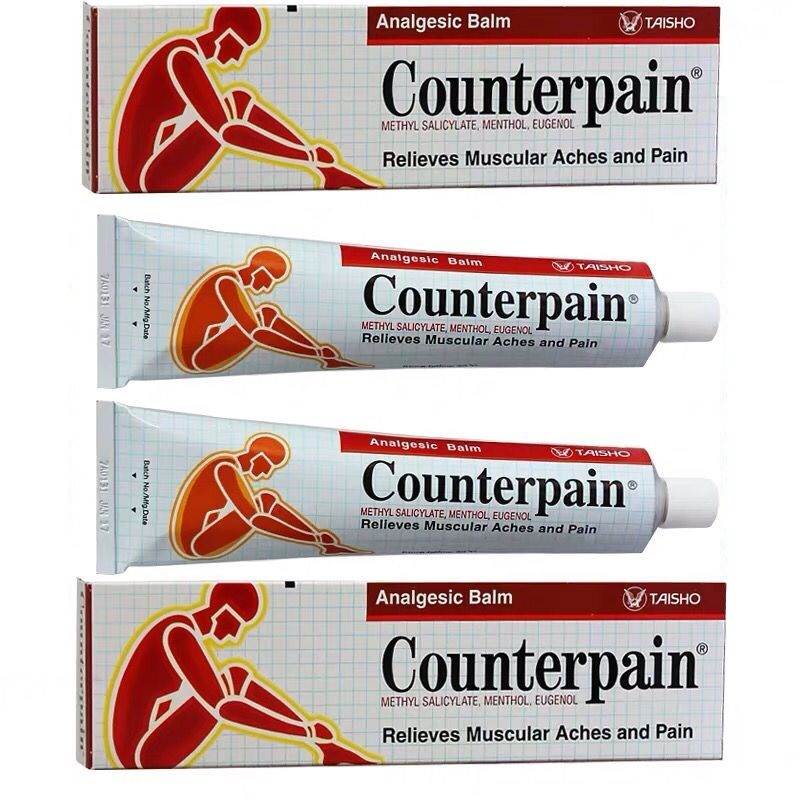 120g Thailand Counterpain Analgesic Balm Relieves Muscle Aches And Pain Relieve Pain Balm Rheumatoid Arthritis Ointment