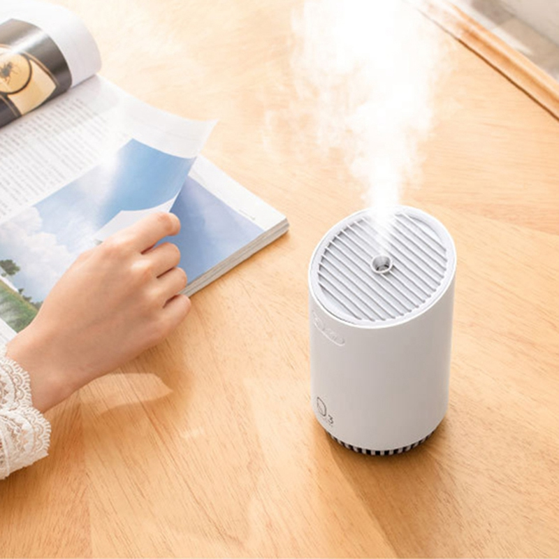 Mini Air Humidifier Rechargeable Diffuser USB Aroma Essential Oil Diffuser 320ML Battery Humidification Car Air Purifier Maker Humidifiers     - title=