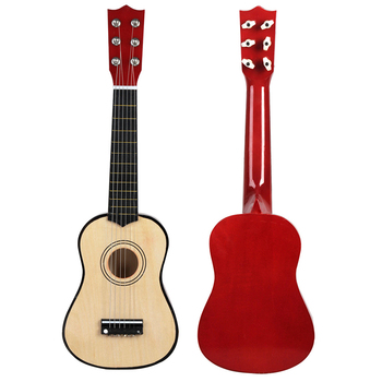 21-Inch Wood Ukulele Christmas Gift Ukulele Children Four-String Small Guitar Color Ukulele Guitar Travel Guitar Ukulele Kit 21 inch acoustic guitar wood ukulele set ukulele concert ukulele soprano kit guit медиаторare uke bass 18