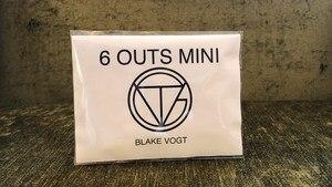 Image 1 - หก Outs MINI (ลูกเล่นและคำแนะนำออนไลน์) โดย Blake Vogt Magic Tricks Mentalism Illusions Close up Magic ทำนายตลก