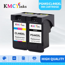 KMCYinks متوافق PG 445 445XL cl446 pg445 PG-445 CL-446 CL 446xl خرطوشة حبر لكانون PIXMA MG 2440 2540 2940 MX494 IP2840