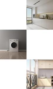 Image 5 - Xiaomi כיכר עגול מכונת כביסה דאודורנט מקיר לקיר אמבטיה מטבח 304 נירוסטה גדול זרימת מייבש