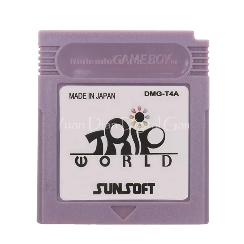 For Nintendo GBC Video Game Cartridge Console Card Trip World English Language Version 1