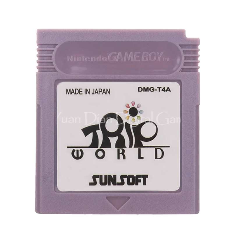 For Nintendo GBC Video Game Cartridge Console Card Trip World English Language Version