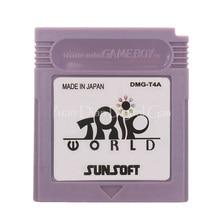 עבור Nintendo GBC וידאו משחק מחסנית קונסולת כרטיס טיול עולם אנגלית שפה גרסה