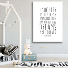 Cartoon Quote Art Canvas Painting Black And White Poster Nordic Posters And Prints Nursery Wall Art Picture Kids Room Wall Decor black white cartoon planet quote wall art print canvas painting nordic canvas poster and prints wall pictures kids room decor