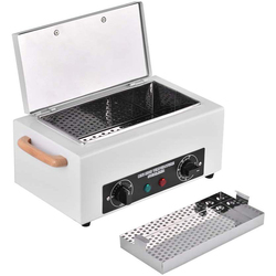 Nail  Sterilizer NV-210 Dry Heat SterilizatioN High Temperature Disinfection Box For Manicure Salon Equipment Nail Metal Too