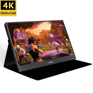 15.6 Inch FHD 3840X2160 4K IPS Portable Gaming Monitor with USB-C Ports for Game Consoles PS3 PS4 Macbook 13.3