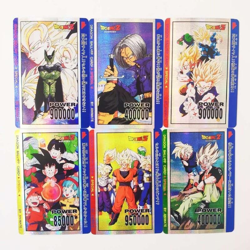 10pcs/set Super Dragon Ball Z PP Heroes Battle Card Ultra Instinct Goku Vegeta Game Collection Cards Free Shipping Limit