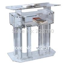 Lectern Pulpit Furniture Plexiglass Acrylic Podium