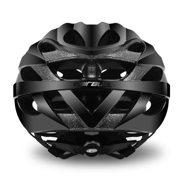 Cairbull ultraleve ciclismo capacete de corrida com óculos de sol intergrally-moldado mtb capacete da bicicleta de estrada de montanha capacete 6