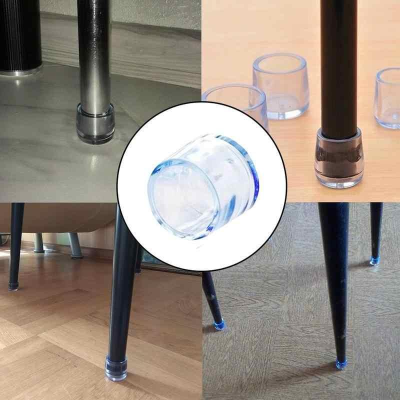 Dicke Verschleiß-beständig Nicht-slip Silikon Tisch Stuhl Fuß Abdeckung Möbel Stumm Massivholz Boden Schutz Pad Stuhl hocker Matte