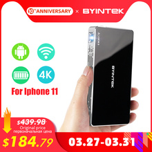 BYINTEK Mini Projector P10,Smart Wifi Pocket Pico Portable B