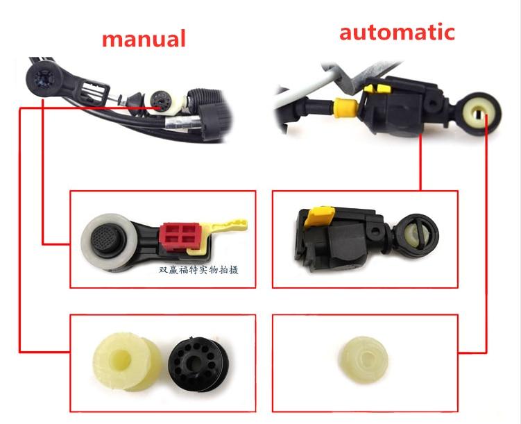 Cafoucs Voor Ford Focus Fiesta Versnellingsbak Pull Hoofd Versnellingspook Transmissie Wearable Kabel