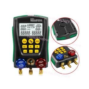 Image 2 - DY517 Refrigeration Pressure Gauge Digital Vacuum Pressure Manifold Tester Meter HVAC Temperature Tester
