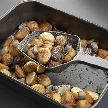 1Pcs Nylon Strainer Scoop Colander Kitchen Accessories Gadgets Drain Veggies Water Scoop Portable Home Cooking Tools 2