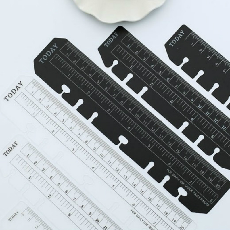 A5 Loose-leaf Bookmark Ruler DIY Loose-leaf Notebook A6 Design Templates For Quilting  Kawaii Accessories  Flexible Rulers