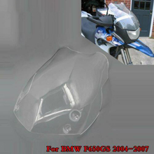 04 07 BMW F650GS F 650 GS F 650GS cam cam rüzgar kalkanı ekran hava akımı deflektörler koruyucu 2004 2005 2006 2007