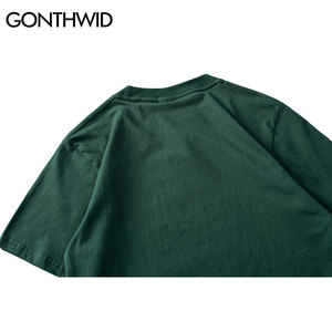 Image 5 - Gonthwid camisetas masculinas, virgin maria, estampadas, engraçadas, manga curta, verão, hip hop, algodão, tops casuais, streetwear, 2020