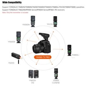 Image 3 - YONGNUO YN560 TX PRO 2.4G Flash Trigger Speedlite Wireless Transmitter for Nikon DSLR Camera YN968N Speedlite RF605 Receiver