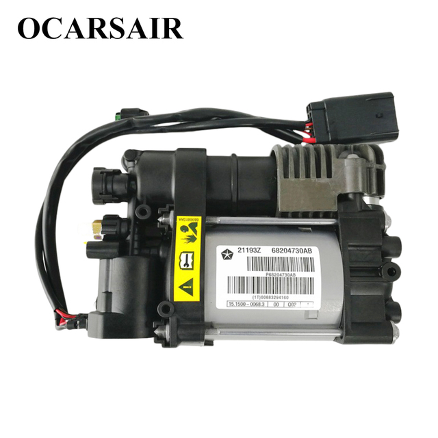 Air Compressor for Air Suspension for Dodge RAM 1500 2013 2014 2015 2016 Oem# 68204387 68232648AA 68204730AC