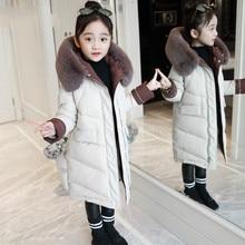 Пуховики для девочек; теплая верхняя одежда для малышей; плотные пальто; ветрозащитные детские зимние куртки; детская зимняя верхняя одежда с героями мультфильмов