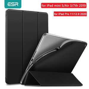 Image 1 - ESR Case for iPad mini 5 Air 3 2019 Air 3 Leather TPU Back Magnet Smart Cover for iPad 7 7th Gen 10.2 for iPad Pro 2020 11 12.9