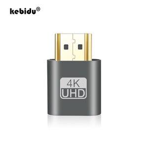 Colorful Aluminum Alloy VGA Adapter HDMI Virtual Display Headless For Ghost Display Emulator Lock DDC EDID Dummy HDMI Plug