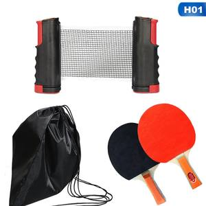 Set Rubber-Film Ping-Pong-Accessories-Set Table-Tennis Retractable Robot Training Professional
