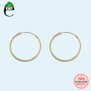 Gold Hoop Earrings Minimalist