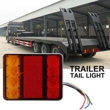 1 комплект грузовик с прицепом хвост светильник 12v 8led задний