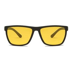 Image 2 - LongKeeper חדש גברים לילה נהיגה משקפי שמש מקוטבת ראיית לילה זכר משקפיים קלאסי מותג מעצב צהוב עדשת משקפי UV400