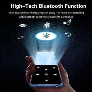 Image 5 - MP3 Speler, Benjie 16Gb 2.4 Inch MP3 Bluetooth 4.0 Hifi Lossless Muziekspeler, tft kleurenscherm/Fm Radio, Maximale Ondersteuning 128Gb