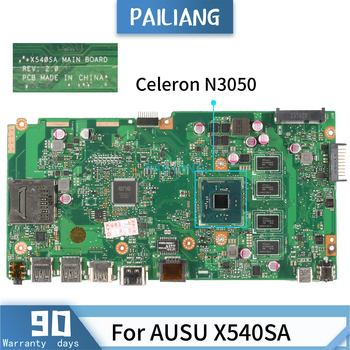 PAILIANG Laptop motherboard For AUSU X540SA REV 2.1 Mainboard Core SR29H Celeron N3050 With 4G RAM TESTED ddr3