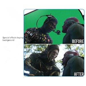 Image 3 - Fotografia portátil refletor chromakey pano de fundo verde azul tela backdrops painel para youtube vídeo studio100x150cm/150x200cm