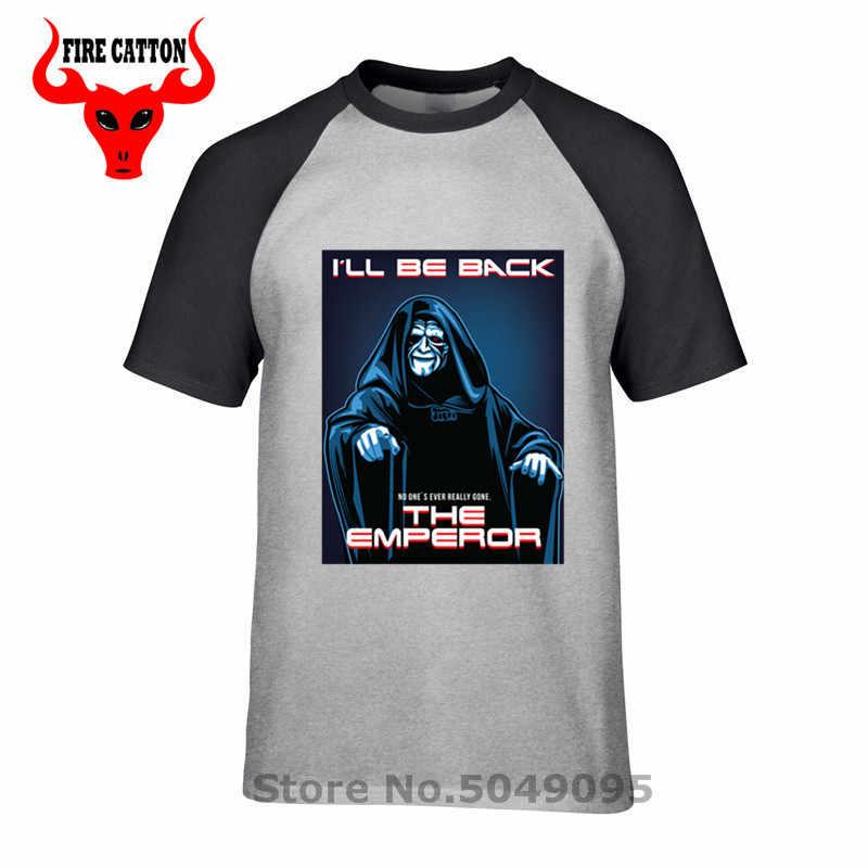 Star Dark Side เสื้อผ้า Rise of Palpatine Skywalker T เสื้อผู้ชาย Empire Sith Tee เสื้อ JEDI Wars พ.ศ.พ.ศ.พ.ศ.พ.ศ.พ.ศ.I'll be back T เสื้อ