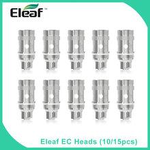 10 sztuk partia oryginalny Eleaf EC cewki wymiana głowy 0 3 0 5ohm dla iJust 2 Melo 3 Atomizer elektroniczne rdzenie papierosów tanie tanio Eleaf iJust2 EC Head (5pcs) eleaf iJust 2 DS NC 30-80W 30-100W