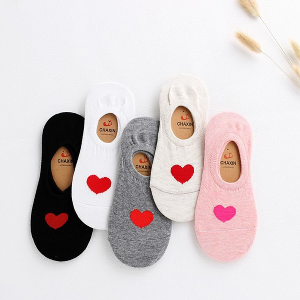 Spring Summer Cute Cotton Boat Socks Breathable Casual Funny Warm Invisible Sock Fashions Socks 2018
