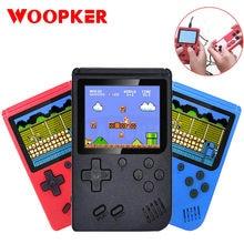 Handheld Mini konsola do gier 400 w 1 Retro gra wideo konsola przenośny kieszonkowy 3.0 Cal dla dziecka nostalgiczne