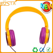 New Style Head-Mounted Gift Earphone Cable Foldable Large Amount Favorably H02709(China)