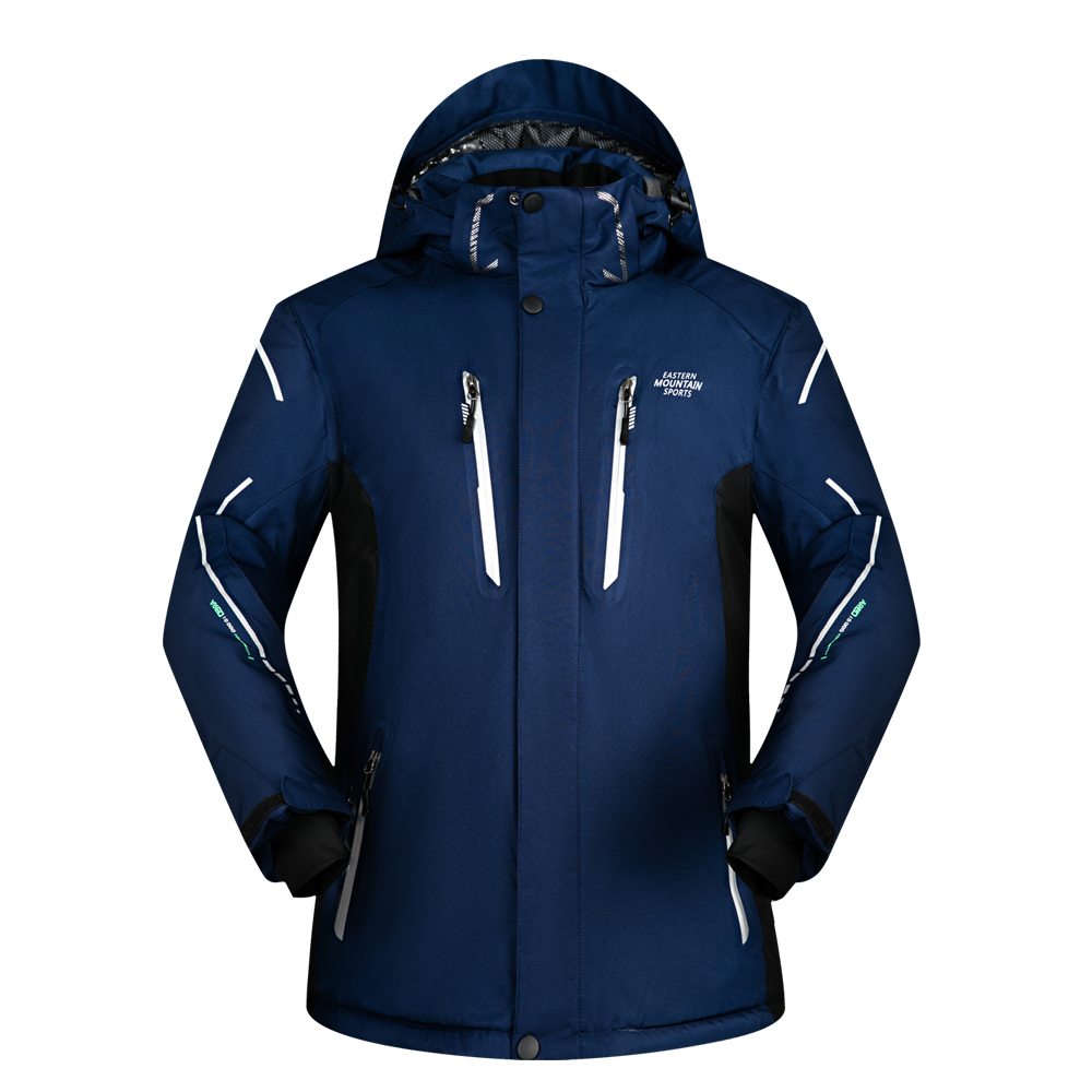 Men Ski Jacket Brands Outdoor Waterproof Thicken Super Warm -30 Degree Snow Jacket Clothes Coat Winter Snowboard Jacket Men