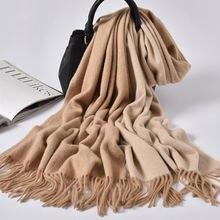 100% шерсть женские зимние шарфы толстый теплый шерстяной платок