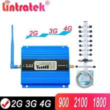 Lintratek gsm 900 2100 repetidor de sinal 2g gsm 3g 4g impulsionador 900 1800 celular 2100 3g 4g móvel repetidor de sinal celular impulsionador