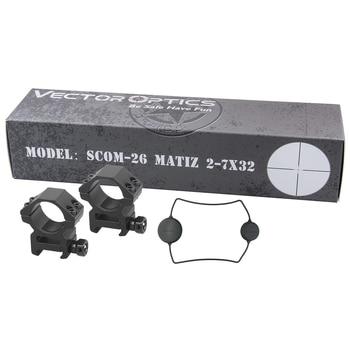 Vector Optics Matiz 2-7x32 1 Inch Hunting Riflescope Compact Rifle Scope 1/4 MOA Varmint Shooting R/700 Ruge/10/22 .22 .177HMR 6