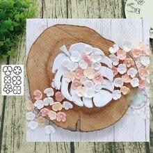 Scrapbooking Stencil Die Cutting-Dies Crafts Flower Diy-Card Handmade Metal for 6pc