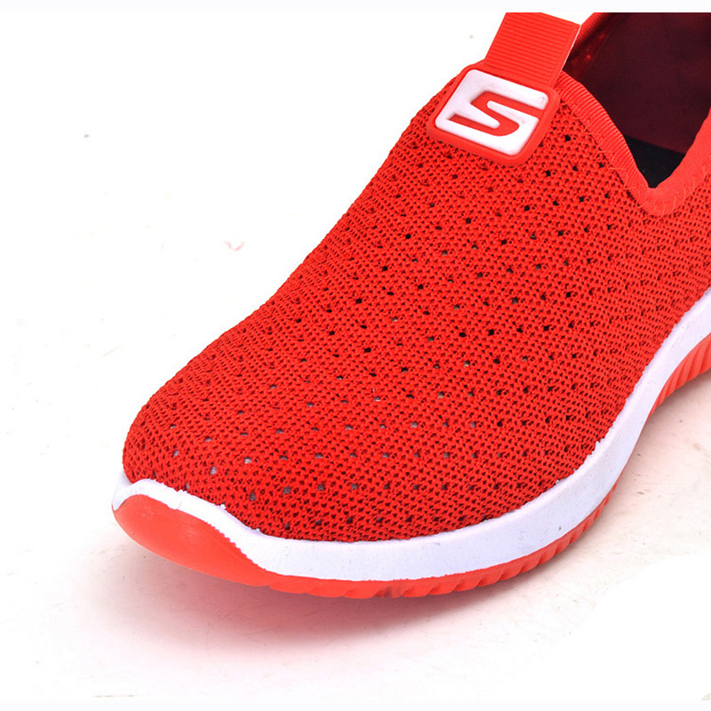 2020 Women Vulcanized Female Sneakers Mesh Shoes For Woman Walking Shallow Solid Non Slip Casual Footwear Ladies Breathable