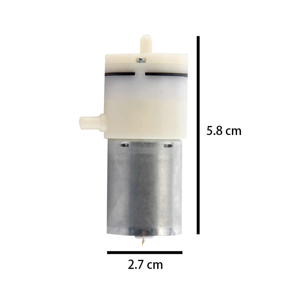 DC 12V Listrik Mikro Pompa Pompa Mini Pompa Udara Pompa Booster untuk Perawatan Alat Vacuum Pump