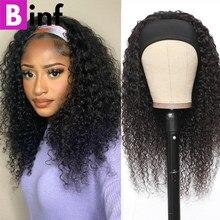 Encaracolado peruca do cabelo humano perucas para preto feminino glueless brasileiro cachecol peruca remy encaracolado perucas de cabelo humano fácil de instalar