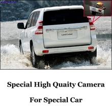 Kamera cofania samochodu LiisLee dla TOYOTA Land Cruiser Prado LC 150 LC150 J150 2009 ~ 2020 noktowizor HD widok z tyłu kamera tylna tanie tanio Plastikowe + Szkło Drutu ACCESSORIES Z tworzywa sztucznego