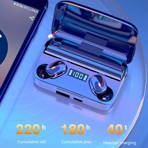 TWS Wireless Earphone 5.0 Earphone TWS For Xiaomi Redmi Airdots Headset Noise Cancelling Earbud For Huawei SamgSung Phone